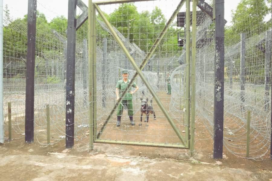 Hiện vật được trưng bày tại Nhà tù Phú Quốc