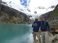 Glacial Lake between Alpamayo and Artesonraju