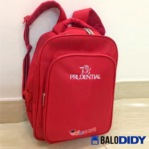 Balo cho công ty bảo hiểm làm quà tặng cho khách hàng - Prudential
