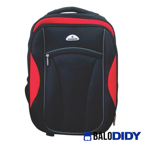 Balo-laptop-cho-nam-mạnh-mẽ-hai-màu-đỏ-đen