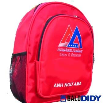 Balo quà tặng cho học sinh trường anh ngữ AMA