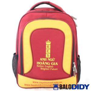 Balo Didy - Mẫu balo học sinh trung tâm ngoại ngữ