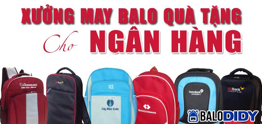 35+ Mẫu balo quà tặng của các ngân hàng Việt Nam - Balo DiDy