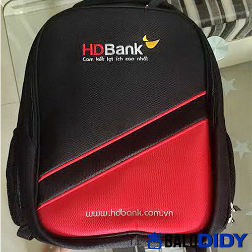 Balo quà tặng ngân hàng HD Bank