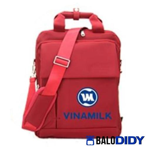 May balo laptop cho hãng Vinamilk