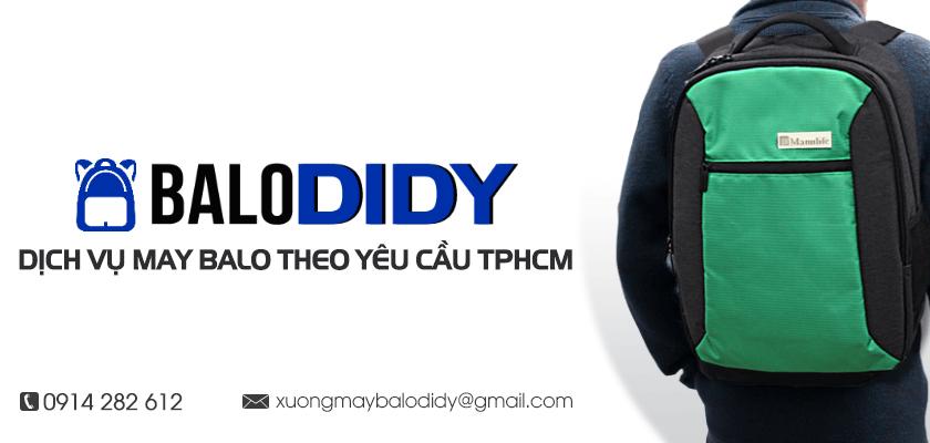 Giới thiệu đôi nét về Xưởng may balo theo yêu cầu Balo DiDy