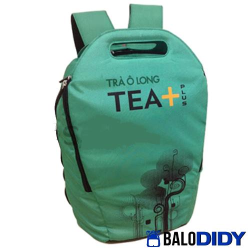 Balo Tea Plus: mẫu balo trà ô long - Xưởng may balo túi xách ở TPHCM - Balo DiDy