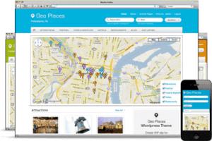 GeoPlaces WordPress Theme