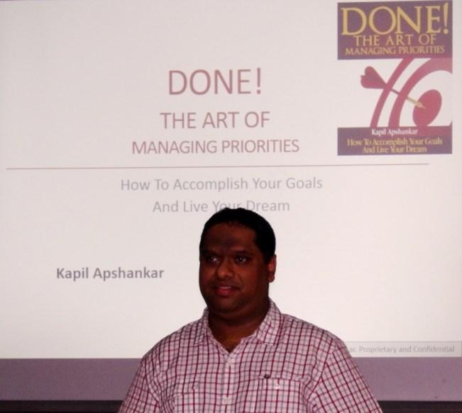 Kapil Apshankar on Priority Management