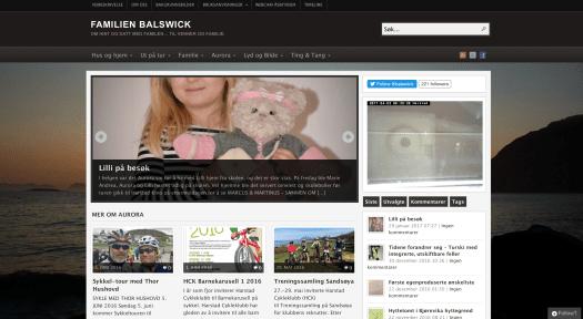familien Balswick - blogg (krever innlogging)