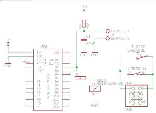 USB dongle schematics