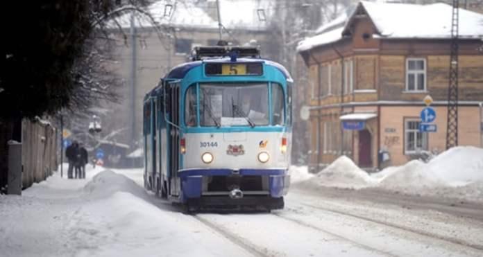 Riga's public transport | Photo: BR Archive