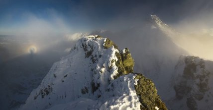 Brocken Spectre And The Mountain Swinica