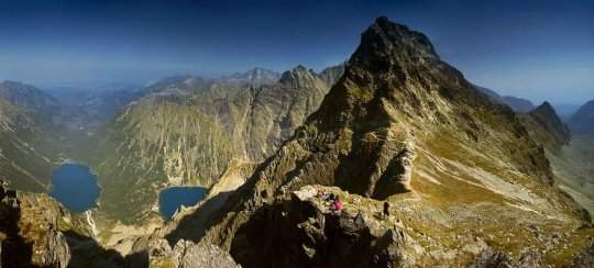 On Mieguszowieckie Peaks