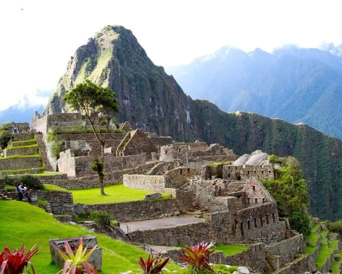 Machu-Picchu in Peru