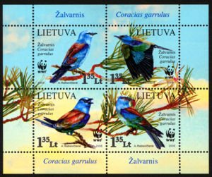 Lithuanian postage stamp 2008