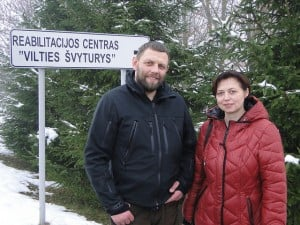 """The founders and owners of the """"Lighthouse of Hope"""" rehab center are Albertas and Inga Lucunas. Albertas is also the co-founder of two other rehabs in Kaunas and Siauliai."""