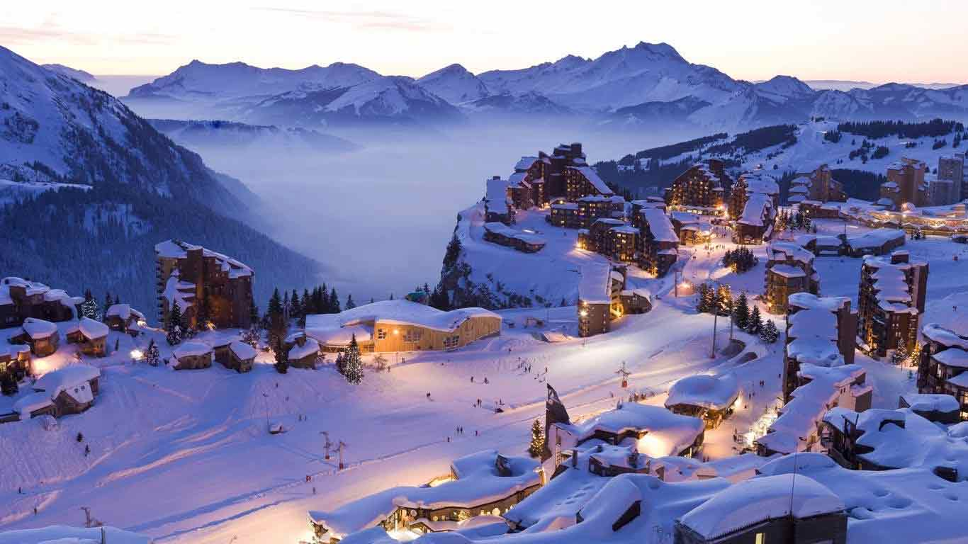 10 best ski resorts in france to go on these holidays