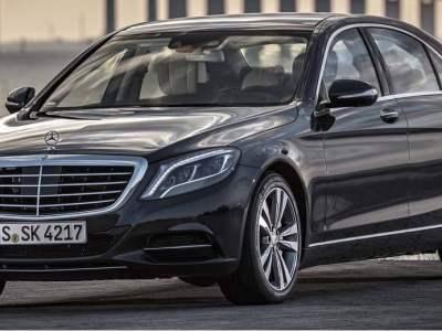Black Mercedes Benz S Class