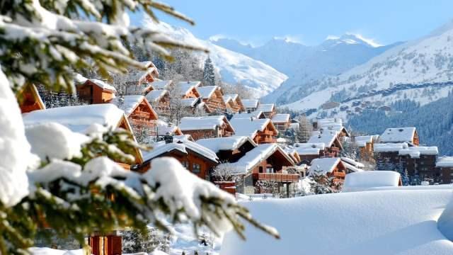 Meribel skii resorts