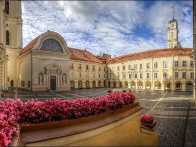 Vilnius University - the oldest university in Lithuania, founded in 1579.