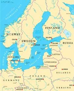 Baltic Sea Region Map