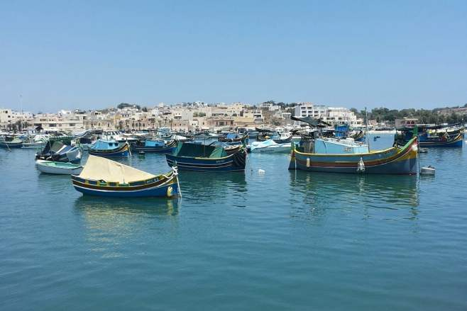 Malta: At the opposite side of the island, Marsaxlokk excels among the loveliest destinations. Photo © by Alessia Bottone
