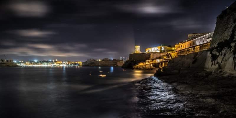Valletta by night - Malta - Cityscape
