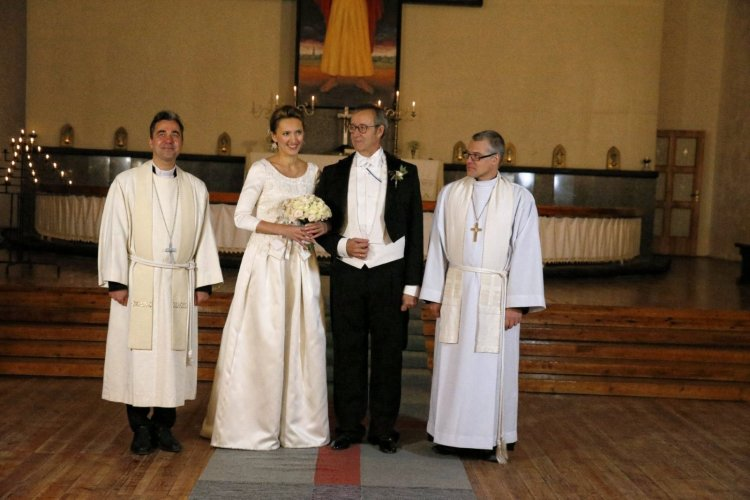 Estonian President marries for the third time