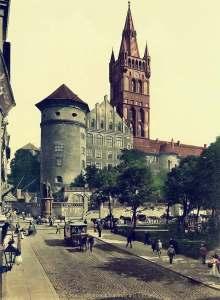 Königsberg Castle, 1895