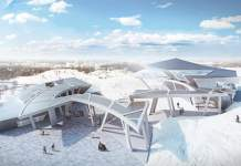 Vilnius hill brought to life by Libeskind