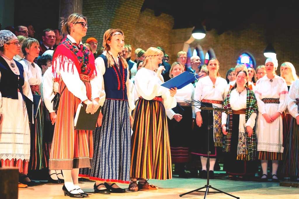 Estonian choirs took part in Estonian song festival in Amsterdam