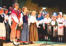 A small Estonian song festival creates excitement in Amsterdam