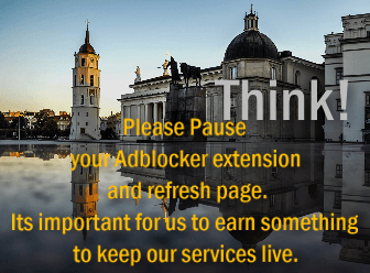 Please Pause your Adblocker