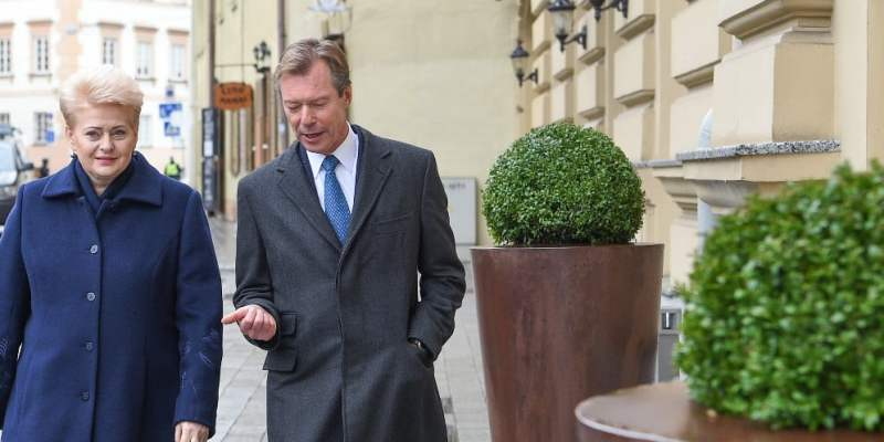 The President and the Grand Duke open the first Lithuania-Luxembourg Business Forum