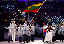 2018 Winter Olympics - Lithuania is represented by nine athletes