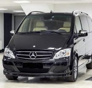 Rent of minibuses MB VIANO