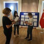 Уголок участника голосования открылся в Анкаре