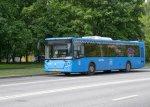 Автобусы трех маршрутов в Москве приостановят работу с 1 июля