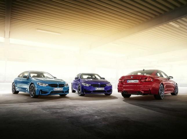 BMW начинает продажи лимитированной серии BMW M4 Edition ///M Heritage