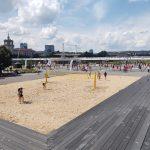 У Белого моста - обновлённая спортивная площадка