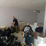 Жители Абхазии получили продуктовую помощь от организаций российских соотечественников