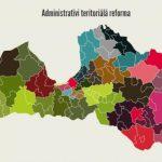 Левитс: административное деление можно будет пересмотреть и после реформы