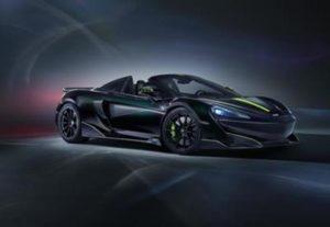 Финальную серию McLaren 600LT Spider посвятили ядовитому пауку