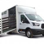 Ford Transit получил модификацию для транспортировки лошадей