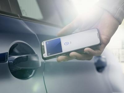 iPhone превратился в цифровой автомобильный ключ