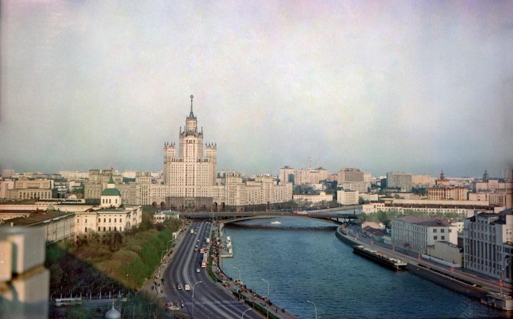 Москва на старых снимках: каким был город 30 лет назад