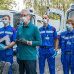 Москва закупила 300 современных машин скорой помощи
