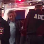 Появилось видео момента задержания пьяного Ефремова
