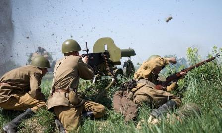 Реконструкторы из других стран говорят о роли советской армии в победе над фашизмом